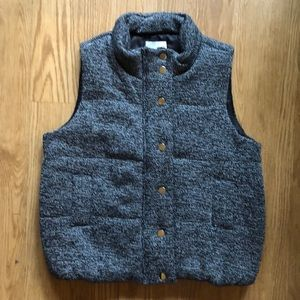 d.RA Knit Puffer Vest NWT - SMALL